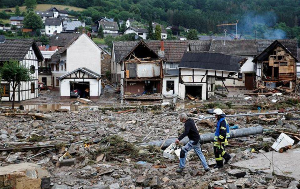 Γερμανία- πλημμύρες: Περίπου 170 άτομα αγνοούνται ακόμη