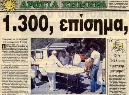 Ο καύσωνας του 1987
