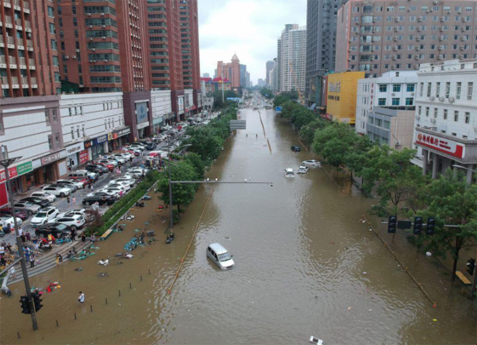 Φονικές πλημμύρες στην Κίνα: Στους 33 οι νεκροί - 8 άνθρωποι αγνοούνται