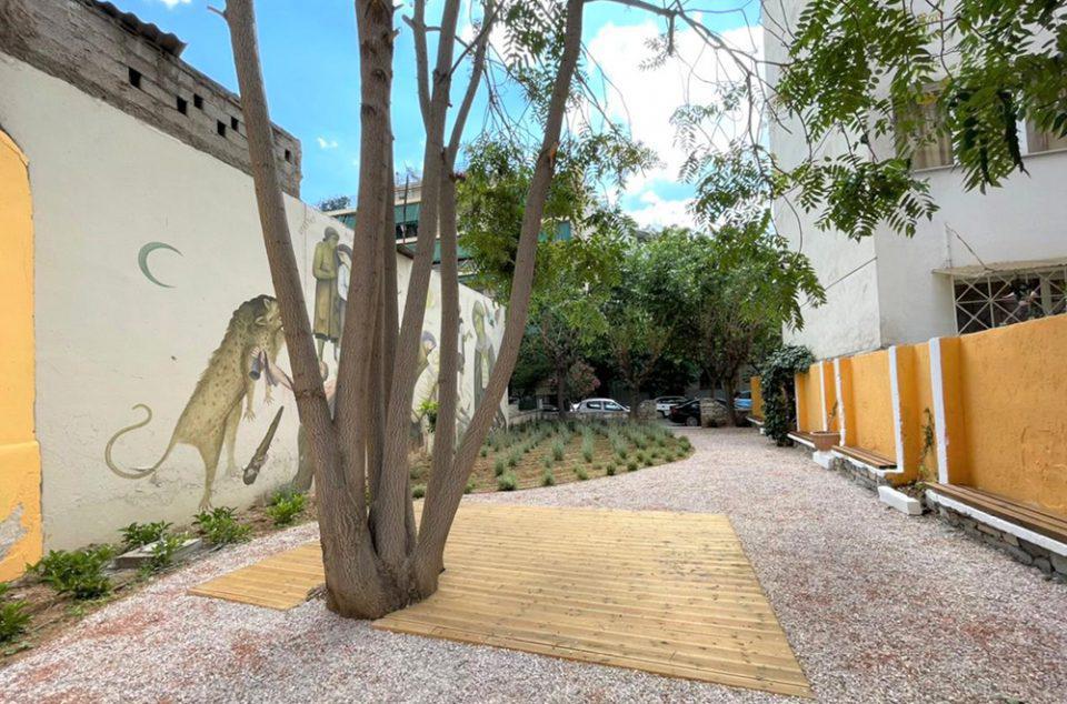 Δήμος Αθηναίων: Νέο βιοκλιματικό «πάρκο τσέπης» στα Σεπόλια [εικόνες]