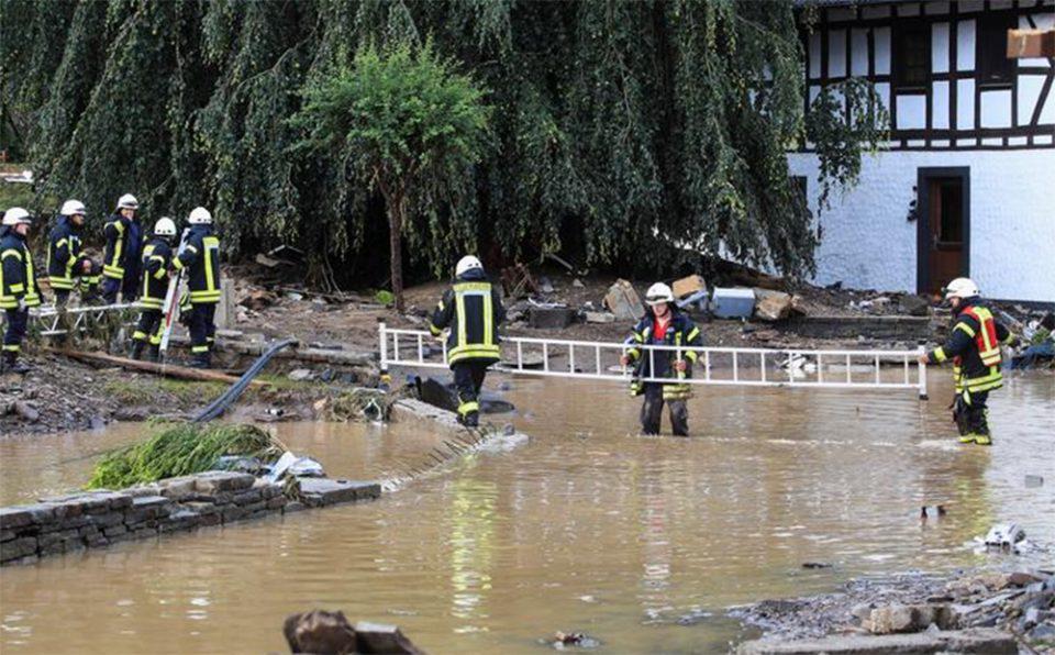 Έρευνα: Η κλιματική αλλαγή έφερε τις φονικές πλημμύρες στην Ευρώπη