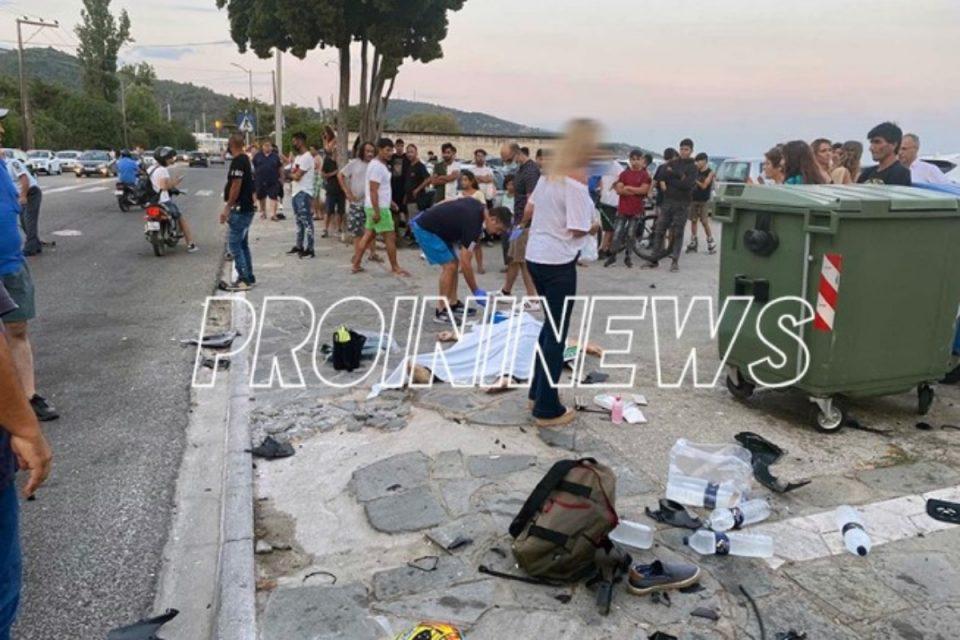 Καβάλα: Μοτοσυκλέτα έσπειρε τον τρόμο – Σφοδρό τροχαίο με νεκρούς, πολύ σκληρές εικόνες