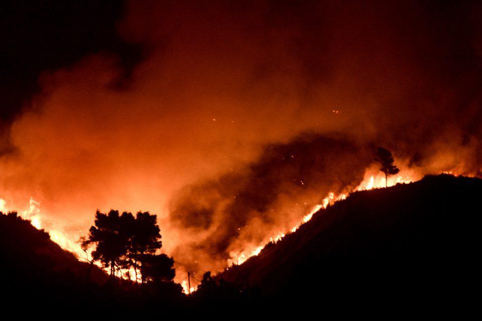 Φωτιά στο Κρυονέρι: Συνελήφθη 43χρονος για εμπρησμό