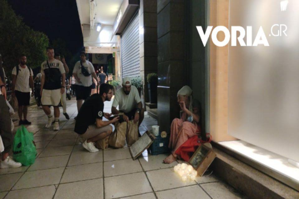 Άρης: Μάθημα ανθρωπιάς από τον Μπεναλουάν – Μοίρασε φαγητό σε αστέγους και οργάνωσε «εκστρατεία» αλληλεγγύης