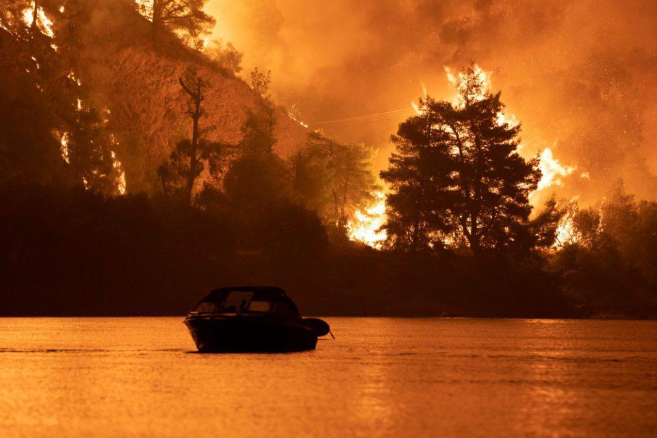 Φωτιά Εύβοια: Κάηκαν πάνω από 340.000 στρέμματα μέχρι στιγμής
