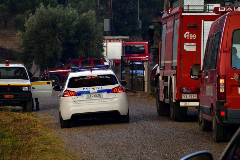 Φωτιά: Κανονικά η κυκλοφορία στον αυτοκινητόδρομο Κόρινθος – Τρίπολη – Καλαμάτα