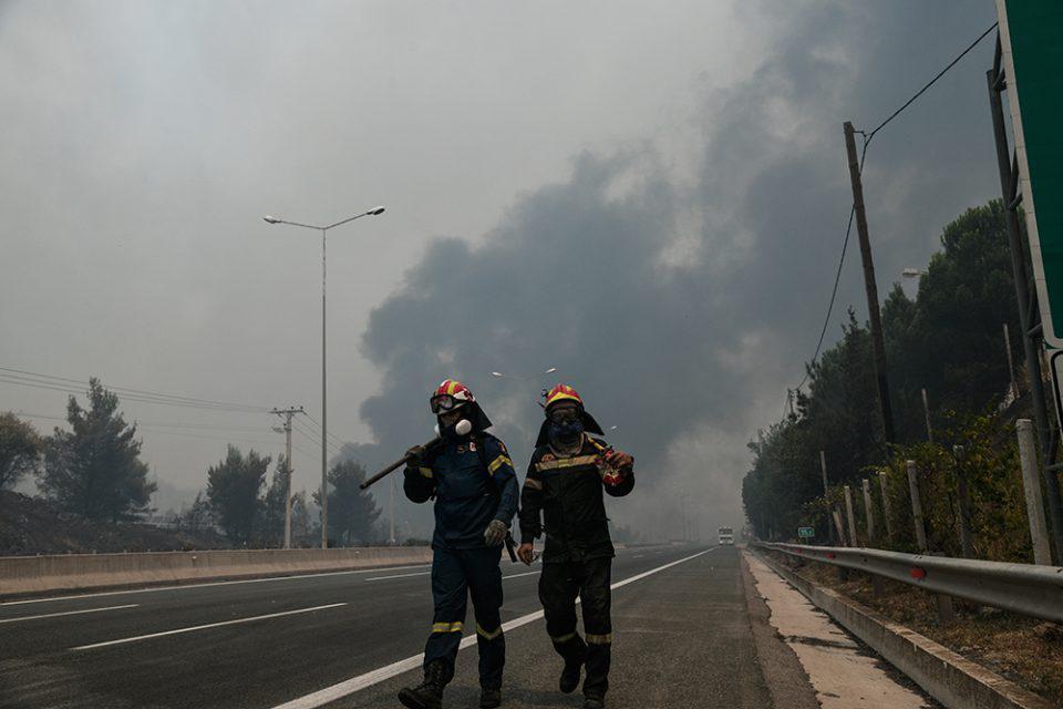 Φωτιά στην Αττική: Προσήχθη 40χρονος στα γραφεία της Κρατικής Ασφάλειας