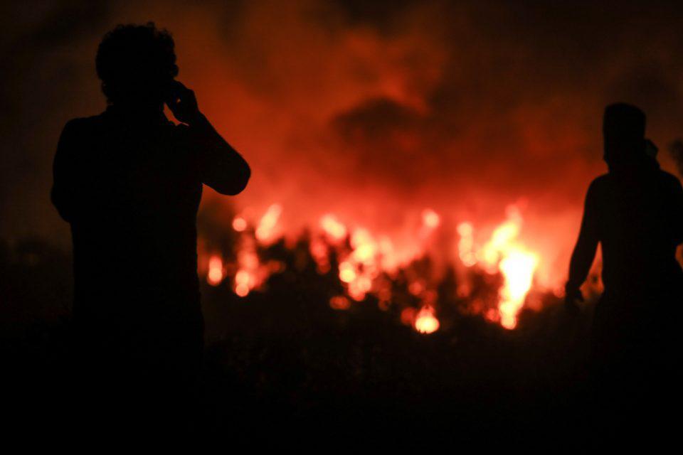 Φωτιά στα Ιωάννινα: Και τρίτο μέτωπο στο Ζαγόρι