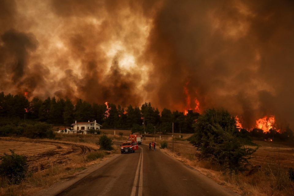 Υψηλός κίνδυνος πυρκάγιας και τη Δευτέρα (9/8)