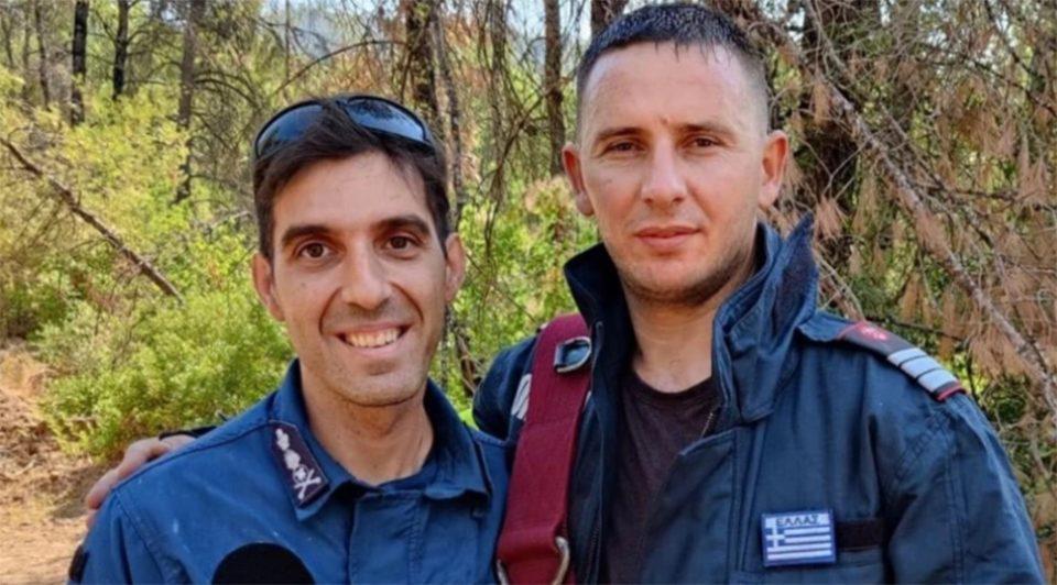 Εύβοια: Το δώρο Έλληνα πυροσβέστη σε Ρουμάνο συνάδελφό του