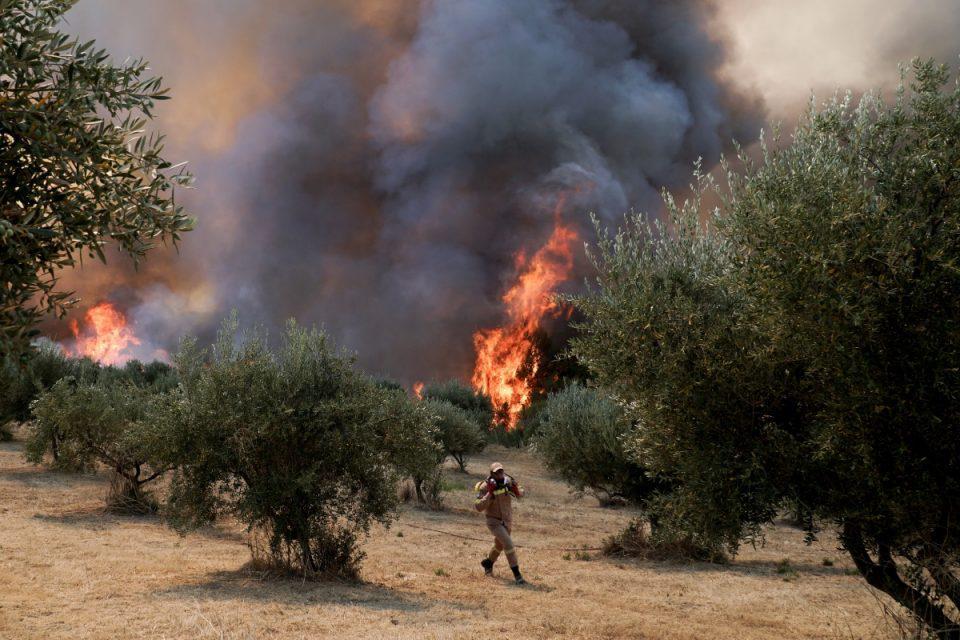 Φωτιά στην Ηλεία: Δραματική η κατάσταση στο πύρινο μέτωπο – Έχουν εκκενωθεί συνολικά 19 κοινότητες