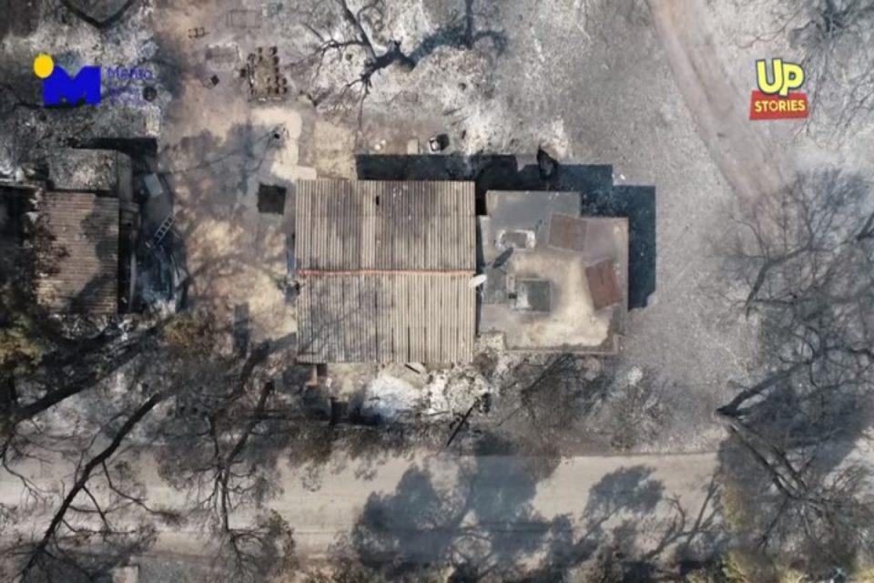 Φωτιά στη Βαρυμπόμπη: Τρομακτικές εικόνες – Βίντεο από drone κόβει την ανάσα