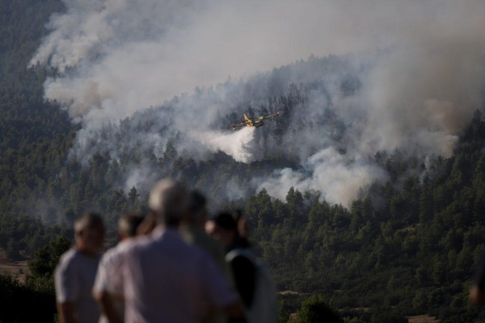 Κρήτη: Μεγάλη φωτιά στο Ρέθυμνο - Σπεύδει η Πυροσβεστική