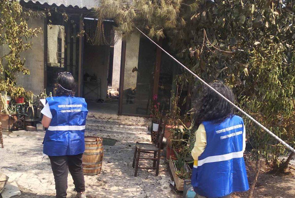 Φωτιές: Ξεκίνησαν οι καταγραφές ζημιών από το υπ. Υποδομών