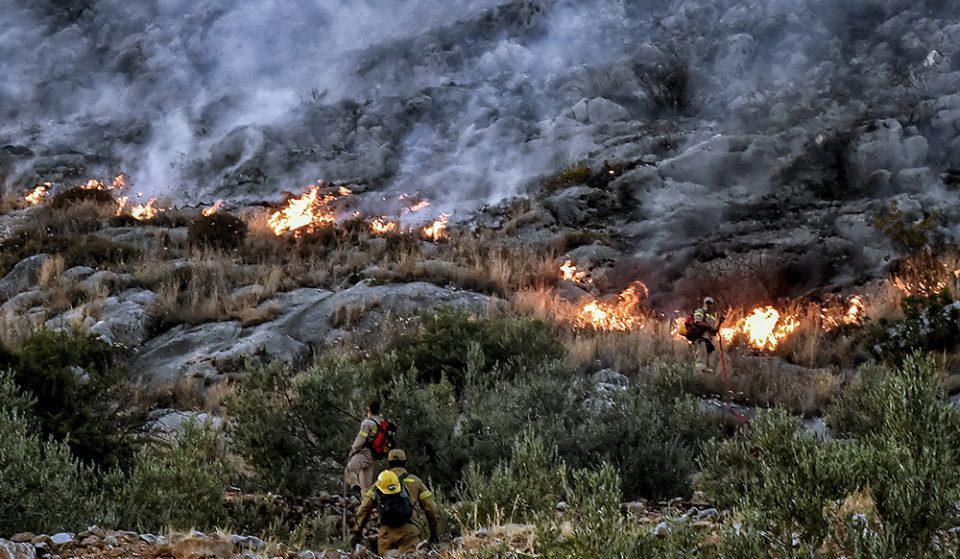 Καλή εικόνα παρουσιάζουν οι πυρκαγιές σε Εύβοια και Κορινθία