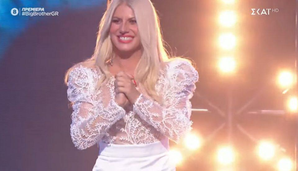 Big Brother: Η Άννα Μαρία Ψυχαράκη εισέβαλε στο πλατό κι έκανε χαμό
