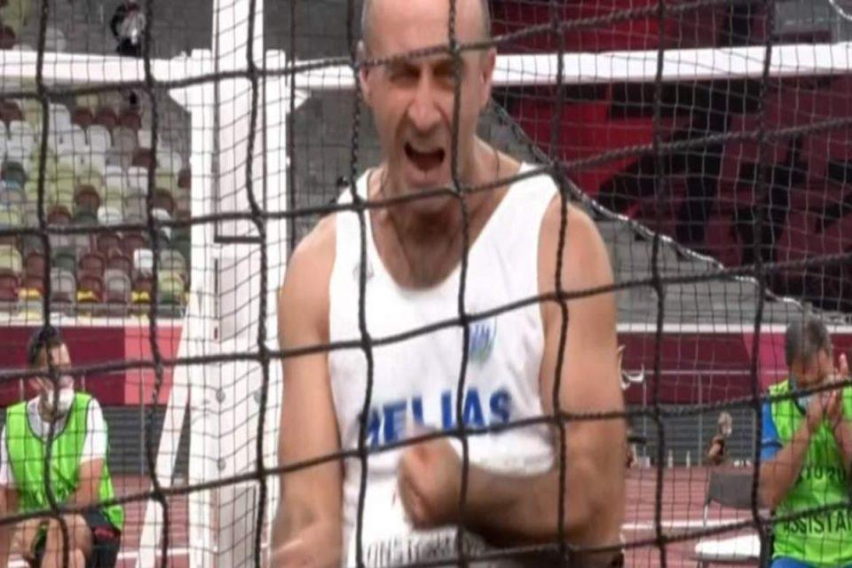 Παραολυμπιακοί Αγώνες: Ασημένιος ο Κωνσταντινίδης – Μετάλλιο στη ρίψη κορίνας