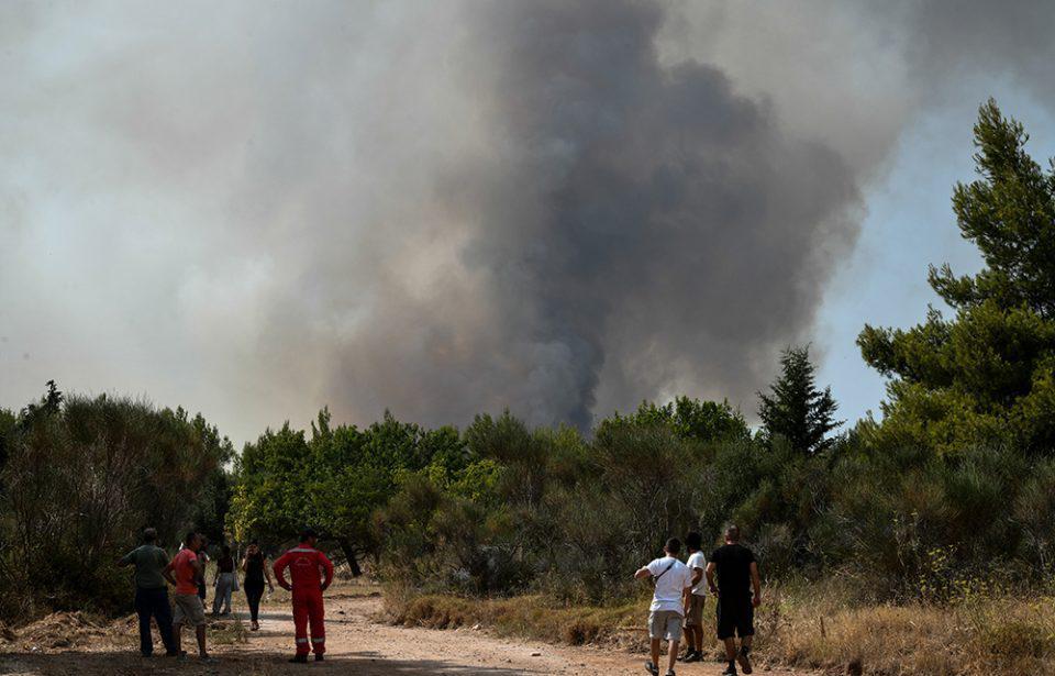 ΑΔΜΗΕ: Εκτός λειτουργίας δύο κρίσιμα κυκλώματα λόγω της φωτιάς