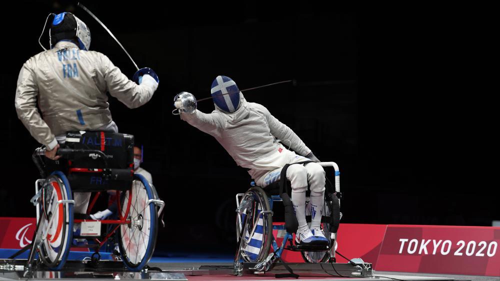 Παραολυμπιακοί Αγώνες: «Χάλκινος» ο Τριανταφύλλου στην ξιφασκία