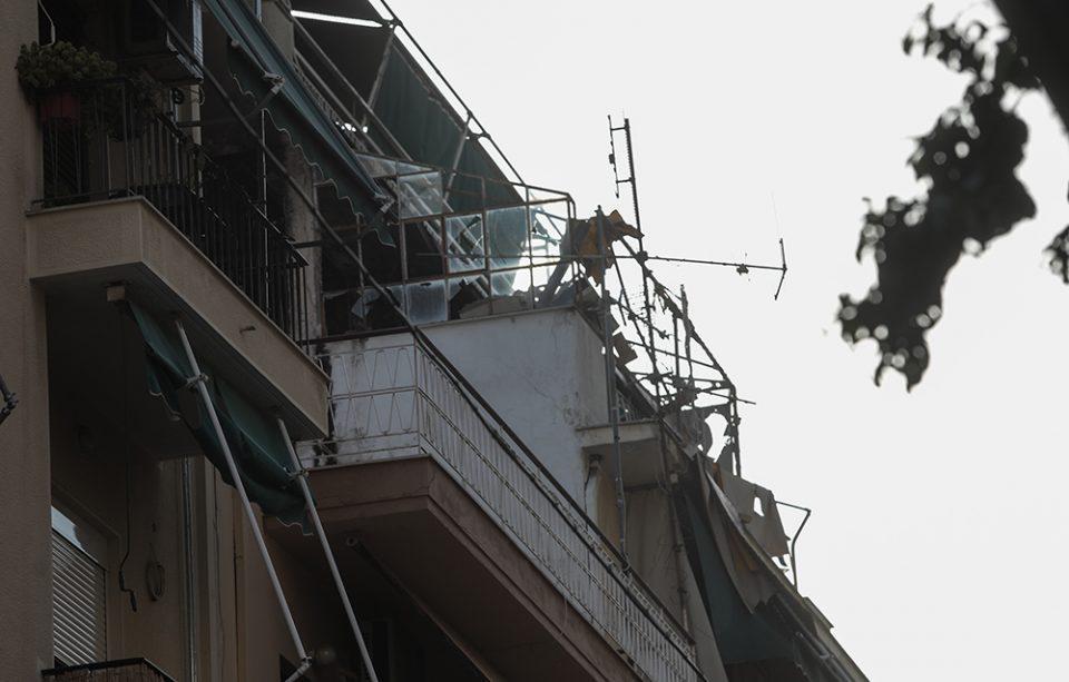 Πατήσια: Βίντεο ντοκουμέντο από την έκρηξη σε πολυκατοικία