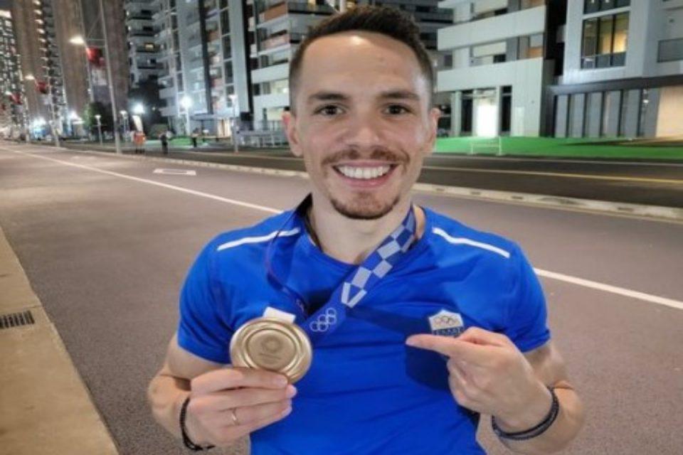 Ολυμπιακοί Αγώνες-Πετρούνιας: Το πρώτο μήνυμα του Ολυμπιονίκη μας – «Η κορυφή μας ανήκει, σας ευχαριστώ»