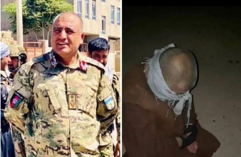 Αφγανιστάν: Βίντεο σοκ με την εν ψυχρώ εκτέλεση στρατηγού από τους Ταλιμπάν