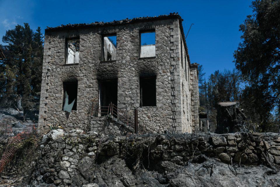Μενδώνη για Τατόι: Καταστροφές σε επτά κτίρια από την φωτιά - Τι έγινε με τα κοντέινερ