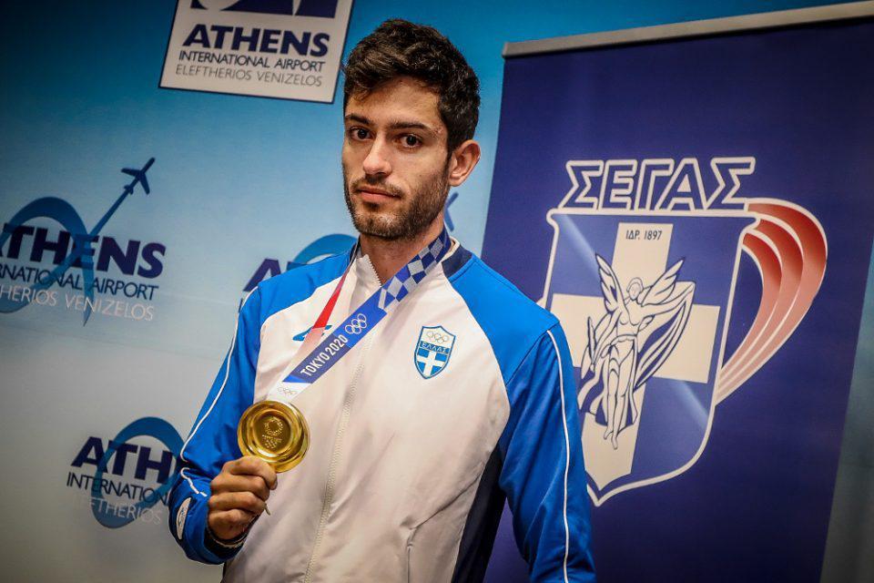 Ολυμπιακοί Αγώνες-Στίβος: Στην Αθήνα ο Μίλτος Τεντόγλου