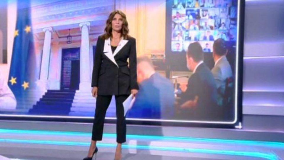 Πόπη Τσαπανίδου Εκανε πρεμιέρα στο κεντρικό δελτίο ειδήσεων του Open