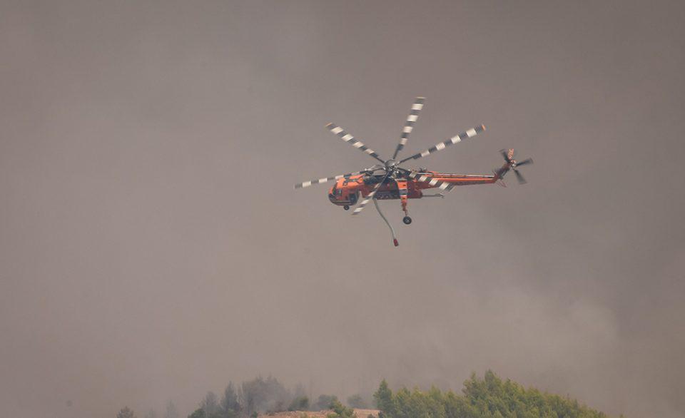 Χαρδαλιάς για τις πυρκαγιές: Πώς λειτούργησαν τα εναέρια μέσα