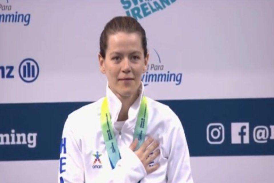 Παραολυμπιακοί Αγώνες: Χάλκινο μετάλλιο η Σταματοπούλου στα 50μ. ύπτιο S4