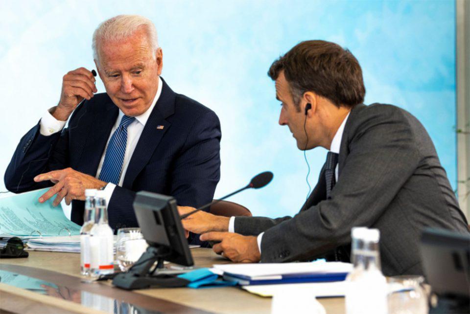 AUKUS - Τριγμοί στις σχέσεις Γαλλίας-ΗΠΑ: Τα «αντίποινα» από το Παρίσι