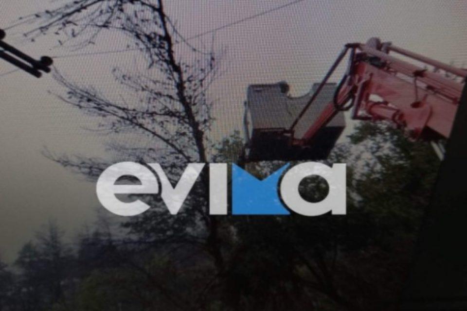 Εύβοια: Στο έλεος της κακοκαιρίας η περιοχή - Χωρίς ρεύμα και νερό οικισμοί, «πνίγηκε» η Κύμη