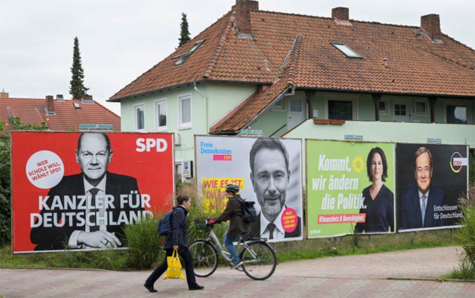 Γερμανικές εκλογές: Στη μία μονάδα η διαφορά SPD από CDU/CSU