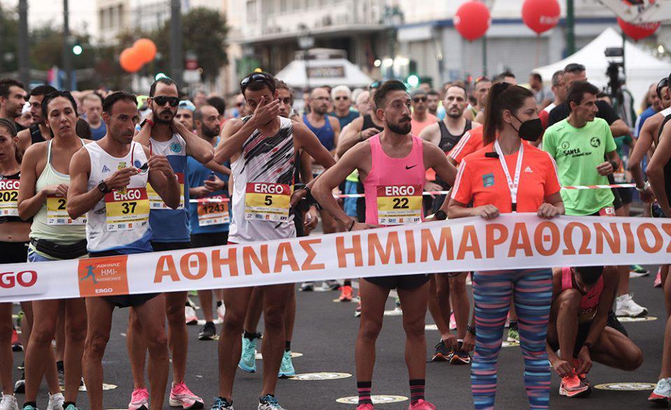 Ημιμαραθώνιος Αθήνας: Εκκίνηση από τον εγγονό του Μίκη Θεοδωράκη