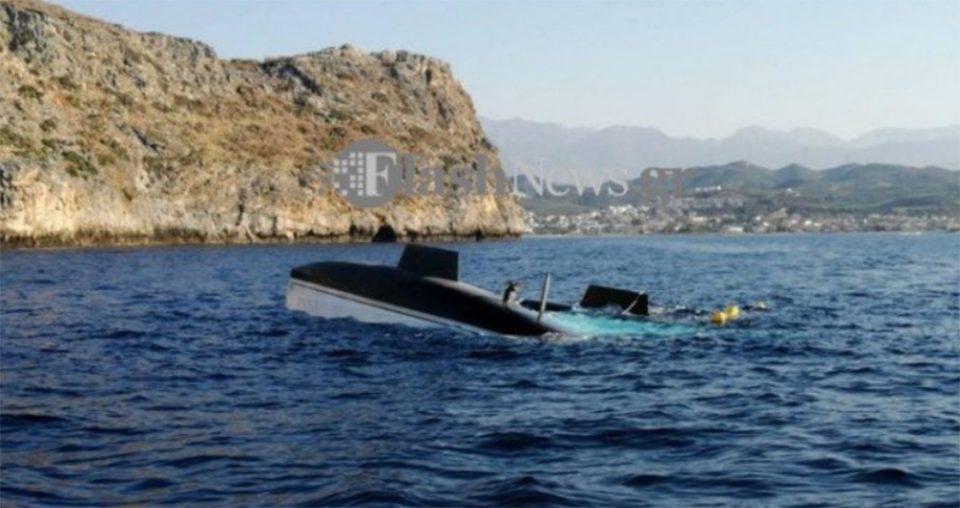 Απίστευτο περιστατικό: Ξεβράστηκε στα Χανιά μετά από 13 ημέρες το σκάφος που βυθίστηκε στην Κύθνο