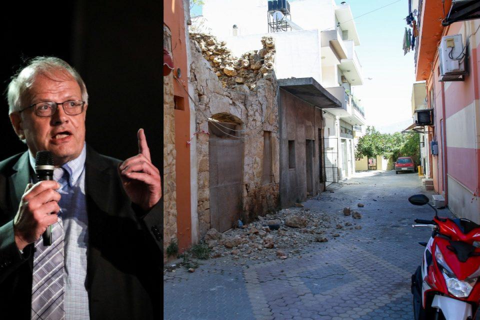 Σεισμός στο Ηράκλειο: Ο Ευθύμιος Λέκκας στον Ε.Τ – «Βρισκόμαστε στη διέγερση του φαινομένου – Δεν το περιμέναμε»