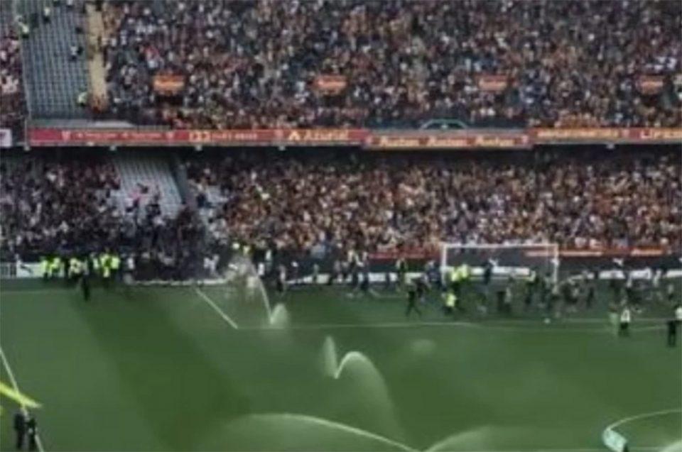 Ligue 1: «Ντου» οπαδών και επεισόδια στο Λανς – Λιλ [βίντεο]