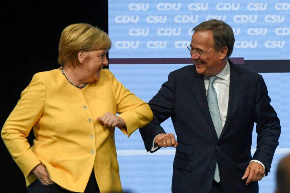 Γερμανικές εκλογές: Η Μέρκελ σπρώχνει τον Λάσετ