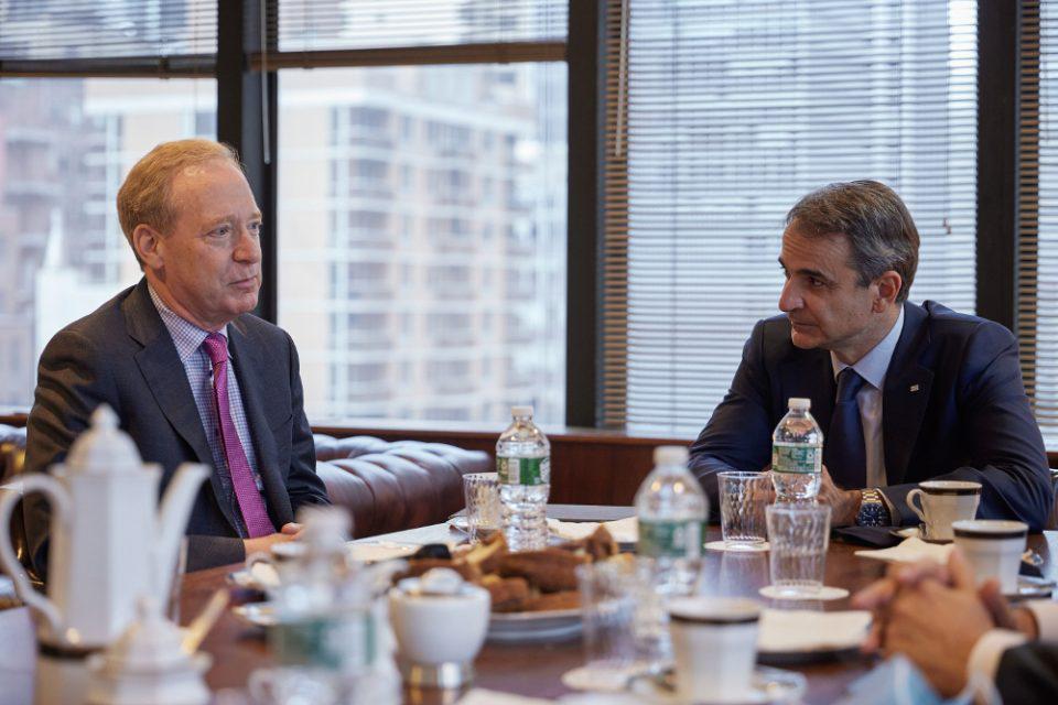 Συνάντηση Μητσοτάκη – Προέδρου της Microsoft με επενδυτικό ενδιαφέρον
