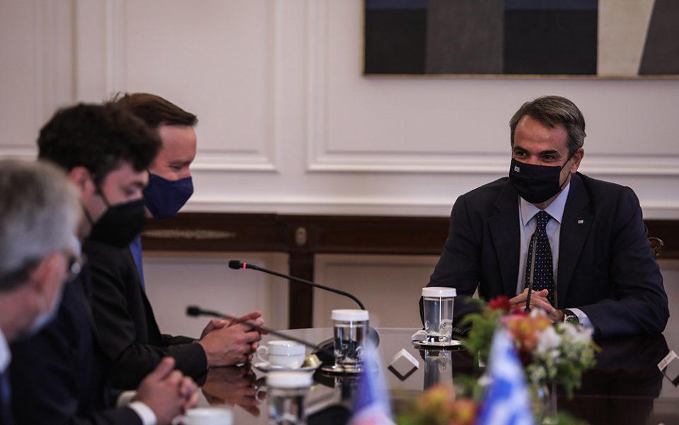 Συνάντηση Μητσοτάκη με Αμερικανούς γερουσιαστές - Τι συζήτησαν