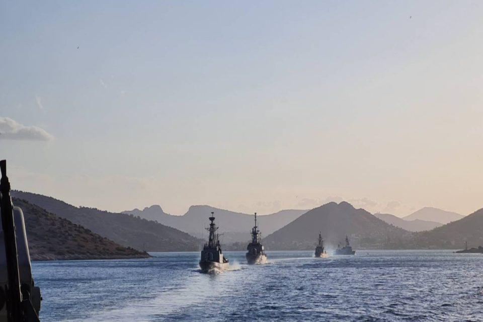 Άσκηση «ΟΡΜΗ»: Έστειλε μήνυμα το Πολεμικό Ναυτικό – Επίδειξη ισχύος από τις φρεγάτες μας