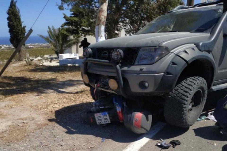 Τραγωδία στην άσφαλτο: Νέο τροχαίο στη Σαντορίνη – Νεαρός σκοτώθηκε με την μηχανή του