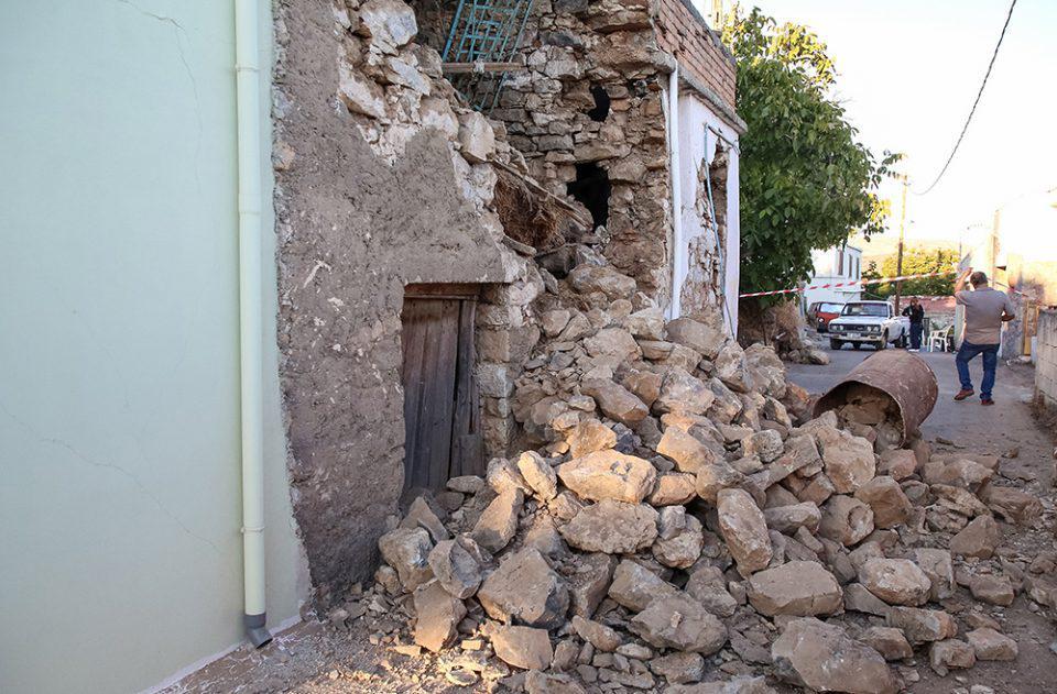 Σεισμός στο Ηράκλειο: Αυξημένα μέτρα ασφάλειας στις πληγείσες περιοχές