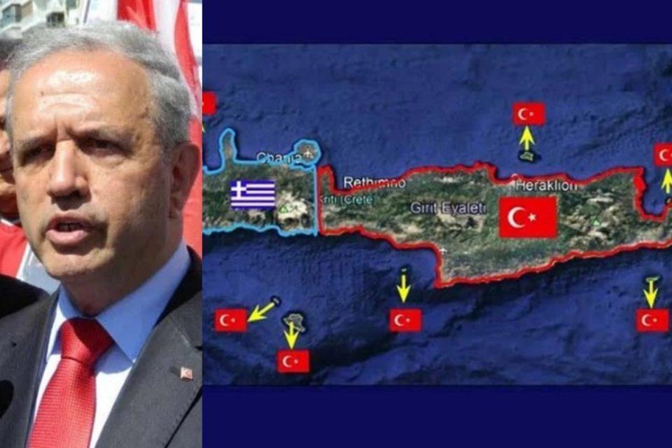 Απύθμενο θράσος από τούρκο απόστρατο: Τα 3/4 της Κρήτης ανήκουν στην Τουρκία