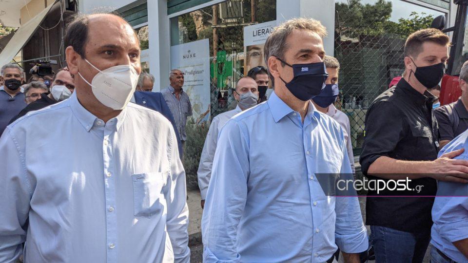 Στην Κρήτη ο Μητσοτάκης: Επισκέπτεται τις σεισμόπληκτες περιοχές