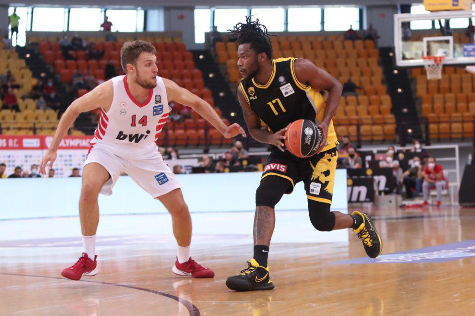 Basket League: Κατοστάρα και double double Βεζένκοφ με ΑΕΚ ο Ολυμπιακός