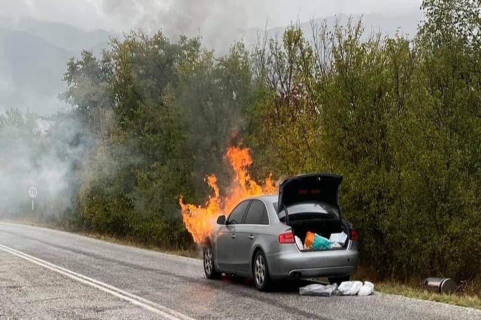 Παναγιώτης Ψωμιάδης: Παρανάλωμα του πυρός το αυτοκίνητό του – «Δεν είχα ούτε φρένα, ούτε τον έλεγχο του τιμονιού»