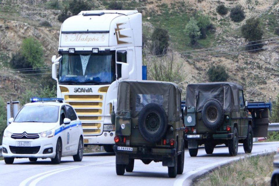 Κορονοϊός: Συνελήφθη υπαξιωματικός στα σύνορα με τη Βόρεια Μακεδονία – Αρνήθηκε να υποβληθεί σε rapid test