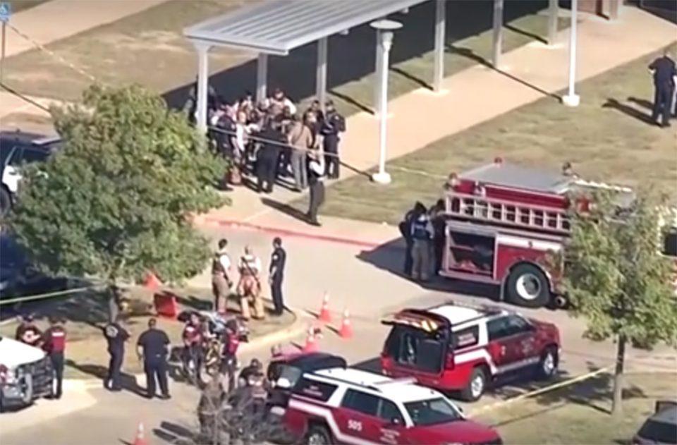 Πυροβολισμοί σε σχολείο στο Τέξας: 18χρονος μαθητής ο δράστης [βίντεο]